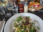 Cafe Gaia - chicken salad & pork belly sandwich